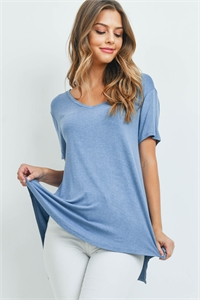 C36-A-1-T7068 LIGHT DENIM TOP 2-2-2