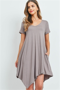 C48-A-1-D8875 TAUPE DRESS 2-2