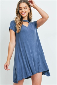 C40-A-1-D9375 DARK DENIM DRESS 3-3