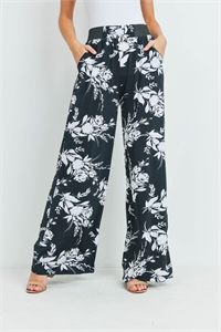 S12-11-1-LG237X225 BLACK WHITE PANTS / 6PCS