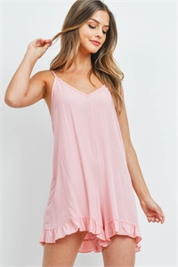 C28-A-2-R4537 DUSTY PINK ROMPER 2-2-2