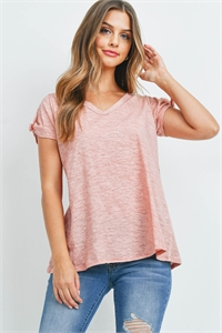 C76-A-2-T7266 DUSTY PEACH TOP 2-2-2