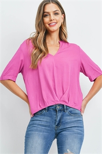 S14-11-4-T13031 FUCHSIA TOP 2-2-2