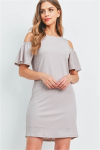 C44-A-2-DR1239 TAUPE DRESS 2-2-2
