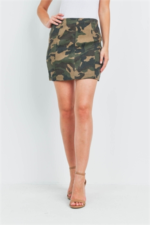 S16-12-2-S0710 CAMOUFLAGE SKIRT 3-2-1