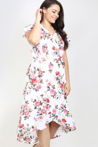 SA4-00-1-D8539X IVORY PINK PLUS SIZE DRESS 1-2-1