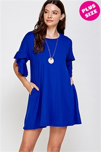 C34-A-3-WD4226X ROYAL PLUS SIZE DRESS 2-2-2