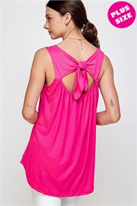 C28-A-3-WT6216SX FUCHSIA PLUS SIZE DRESS 2-2-2