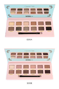 197-3-5-AE015AB OKALAN NATURAL COLOR EYESHADOW PALETTE/6PCS