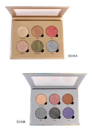 SA3-2-3-AE032AB OKALAN LIQUID METAL EYESHADOW-A/12PCS