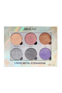 SA3-2-4-AE032B OKALAN LIQUID METAL EYESHADOW/12PCS