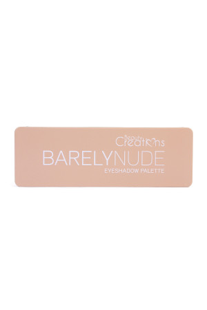 SA3-1-3-AE12BN-BARELY BEAUTY CREATIONS BARELY NUDE  EYESHADOW PALETTE/6PCS