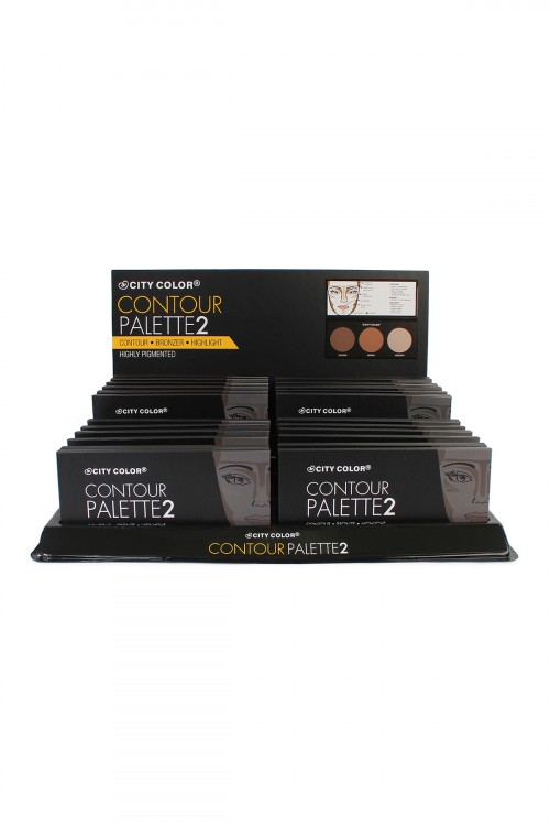 197-4-4-AF0005A City Color Contour Palette2 SET/24SETS