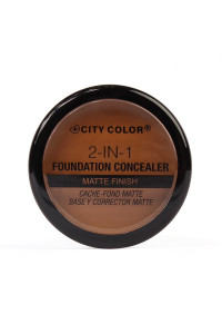 197-3-5-AF0076C-24 2 IN 1 FOUNDATION CONCEALER DEEP/24PCS
