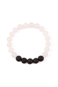 S5-5-4-AHDB2208NA NATURAL 8MM NATURAL STONE STRETCH BRACELET/6PCS