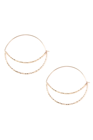 Quick View this Product S6-4-4-AHDE2034G GOLD QUARTER MOON CUT OUT HOOP EARRINGS/6PAIRS  sc 1 st  Wholesale Fashion Square & Wholesale earrings including wholesale fashion costume jewelry