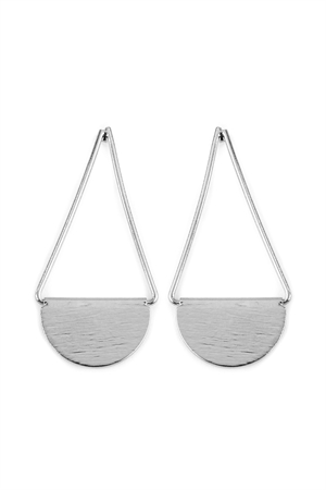 S5-5-2-AHDE2069R SILVER DROP SWING EARRINGS/6PAIRS