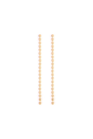 S6-4-2-AHDE2119LG GOLD LARIAT EARRING/6PAIRS