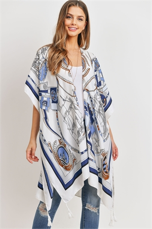 S23-7-3-HDF3176-SAILORS INSPIRED PATTERN OPEN FRONT KIMONO/6PCS