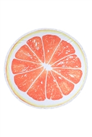 S27-7-3-HDF3200OR-CITRUS ROUND TOWEL-ORANGE/1PC
