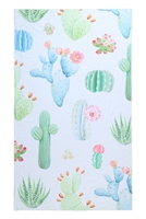 S26-8-4-HDF3207-CACTUS PATTERN TOWEL/1PC