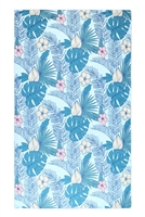 S26-9-5-HDF3208-TROPICAL PRINT TOWEL/1PC
