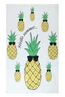 S27-9-4-HDF3209-PINEAPPLE PRINT TOWEL/1PC
