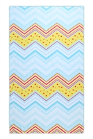 S27-8-4-HDF3217-CHEVRON PATTERN TOWEL/1PC