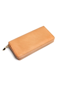 S5-6-1-AHDG1460CA CAMEL CLASSIC SINGLE ZIPPER WALLET/6PCS