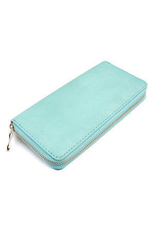 SA4-3-1-AHDG1460MN MINT CLASSIC SINGLE ZIPPER WALLET/6PCS
