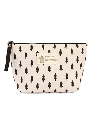 S7-4-5-AHDG1586-11 PINE TREE COSMETIC BAG/6PCS