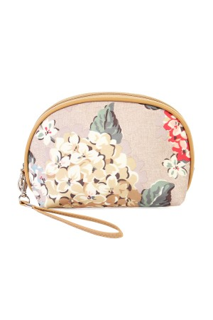 S5-6-2-AHDG1836LGY-COSMETIC FLORAL  BAG- LIGHT GRAY/10PCS