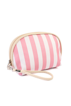 S5-5-1-AHDG1857-1PK STRIPED COSMETIC BAG/6PCS