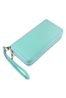 S5-4-1-AHDG2000MN MINT DOUBLE ZIPPER WALLET/6PCS