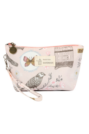 SA4-1-5-AHDG2275-2 BIRD CAGES WRISTLET COSMETIC BAGS/6PCS