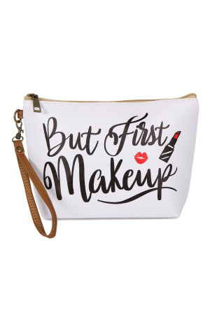 S5-6-5-AHDG2466 MAKE UP FIRST COSMETIC BAG/6PCS