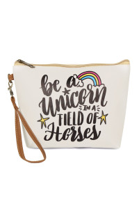 SA4-1-5-AHDG2467 BE A UNICORN COSMETIC BAG/6PCS