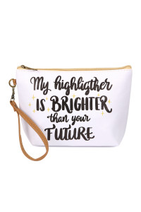 S5-5-5-AHDG2492 MY HIGHLIGHTER COSMETIC BAG/6PCS