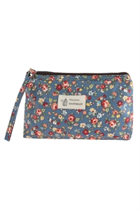 S17-2-4-AHDG2827-2 STYLE 2 FLORAL PRINTED COSMETICS BAG/6PCS
