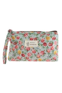 A3-3-1-AHDG2827-4 STYLE 4 FLORAL PRINTED COSMETICS BAG/6PCS