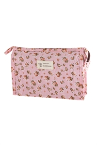 S17-1-4-AHDG2828-3 STYLE 3 FLORAL COSMETICS BAG/6PCS