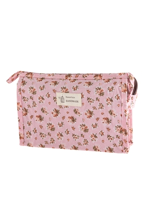 A3-1-1-AHDG2828-3 STYLE 3 FLORAL COSMETICS BAG/6PCS
