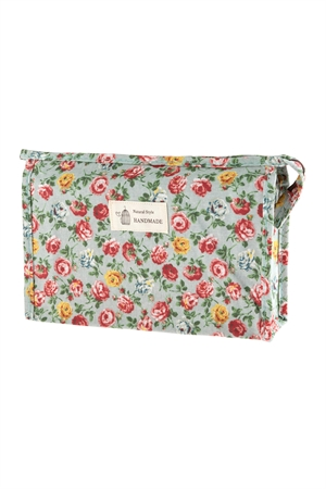 A2-1-1-AHDG2828-4 STYLE 4 FLORAL COSMETICS BAG/6PCS