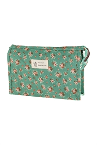 S17-1-4-AHDG2828-5 STYLE 5 FLORAL COSMETICS BAG/6PCS