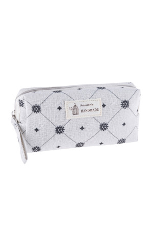 S23-8-4/S23-8-5-HDG3010-1 STYLE 1 DAIMOND PRINT COSMETIC BAG/6PCS