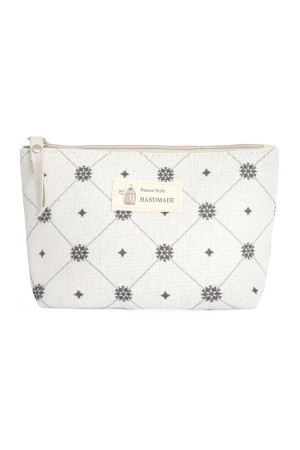 S23-7-4/S23-7-5-HDG3011-9 STYLE 9 DIAMOND PRINT COSMETIC POUCH/6PCS