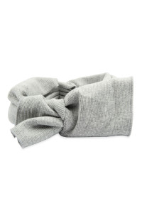 S4-5-5-AHDH2545GY GRAY RIBBON FABRIC HAIR BAND/6PCS