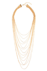 SA4-1-3-AHDN1825G/AMN1825G GOLD NECKLACE/6PCS