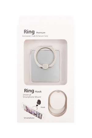S6-5-2-AHDP1339SL SILVER RING HOLDER FOR CELL PHONE/10PCS