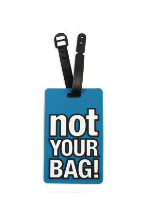 S4-4-4-AHDP1993 NOT YOUR BAG LUGGAGE TAGS/6PCS